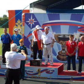 Mihkel Holzmann võitis noorte maailmameistrivõistlustel 100m takistusriba läbimises hõbemedali. Podolsk 2013